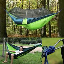New Double Person Travel Outdoor Camping Tent Hanging Hammock Bed Mosquito Net Outdoor Supplies Accessories