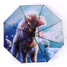 12 kinds Novelty Fairytale Horoscopes Zodiac Star Signs Anti-UV Rain Sun Arts Umbrella Scorpio