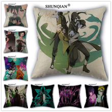Linen Cotton Naruto Pillow Cover Custom Print Home Decorative Pillows Cases 45x45cm one side WZ024