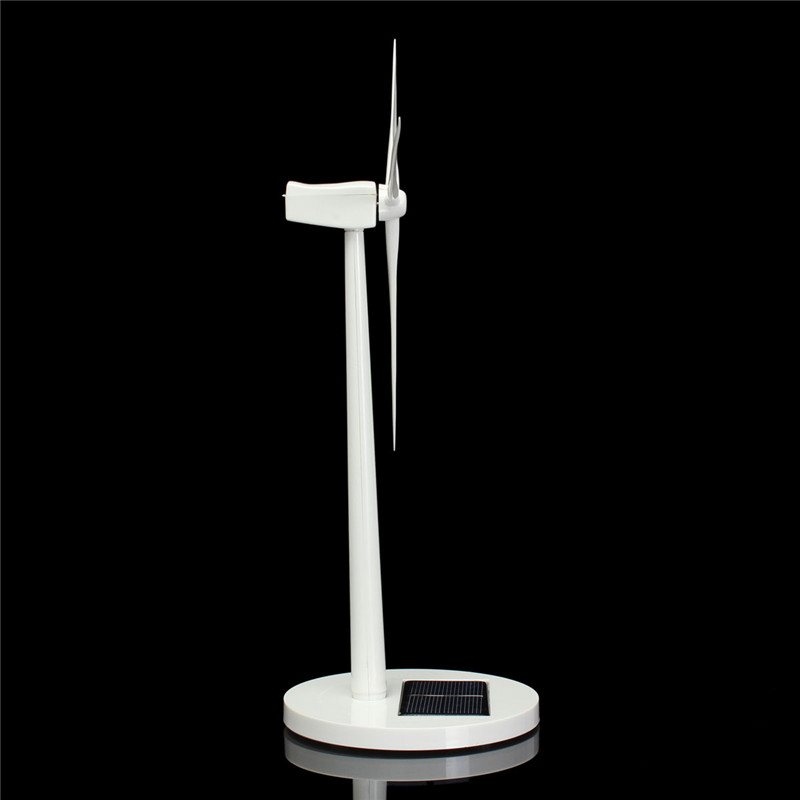 Newest Science Toy Desktop Model-Solar Powered Windmills/Wind For Turbine Decoration Favorable Price(China (Mainland))