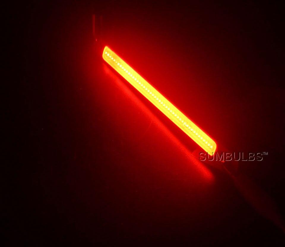 120x10MM 3W 10W COB Light LED Strip Lamp for Work Table Car Lights DIY Blue Red Warm Cold White 12CM LED Bar Bulb