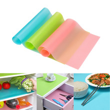 4 Pcs Waterproof Non-Slip Dining Placemat Table Mat Refrigerator pad Antiskid Cup Heat-insulated Kitchen Drawer Bowl Pad Mat