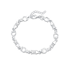 new arrive Beautiful hot women bracelet noble FISH chain fashion Wedding Party Silver cute lady nice  bracelet jewelry LH011