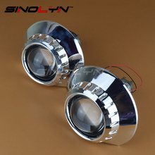For BMW ZKW M3 E46 Non Projector Headlight Retrofit Tuning DIY 2.5 inch HID Bi xenon Projector Lens Kit Headlamp Lenses H1 H7(China)