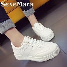 Women Solid White/Black Canvas Shoes Concise Low Top Casual Flat Female Shoes for Women Shoes Lace Up Canvas Women Shoes 172