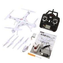Syma X5SW-1 Headless Mode 2.4G  4CH Iphone/Android Real-time transmission WIFI 2MP Camera FPV RC Quadcopter With 5pcs battey