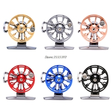 [OOTDTY] 2017 Full Metal Ultra-light Former Ice Fishing Reels Wheel Fly Fishing Reel Aluminum APR07_17(China)