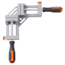 Double Handle 90 Degree Angle Clip Woodworking Jigs Fast Type Aluminum Alloy Clamp Body Quick Release Corner Clamp Frame Clip