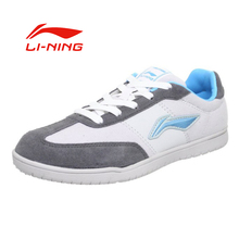 Li-Ning Women's Anti-Slip Wearable Table Tennis Shoes Li Ning Comfortable Light Weight Sports Sneakers LINING Shoes APCH004