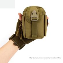 Very small 13cm Travel hang outside bag MOLLE accessories mini wear belt pcak for mobile phone A3124(China)