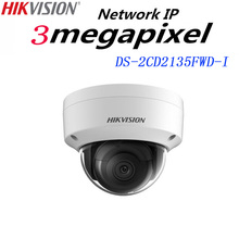 Hikvision English version DS-2CD2135FWD-I 3MP Ultra-Low Light Network mini dome IP CCTV Camera POE SD card 30m IR H.265+