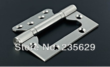 Free DHL/ FedEx Shipping, Low noise Hinge, Antique Brass/ Mirror finish 201 Stainless Steel Hinges, Door hinge, sub-mother hinge