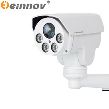 EINNoV PTZ Camera IP camera 4X Zoom 1080P HD POE CCTV security surveillance system with audio oudoor waterproof ptz ip camera