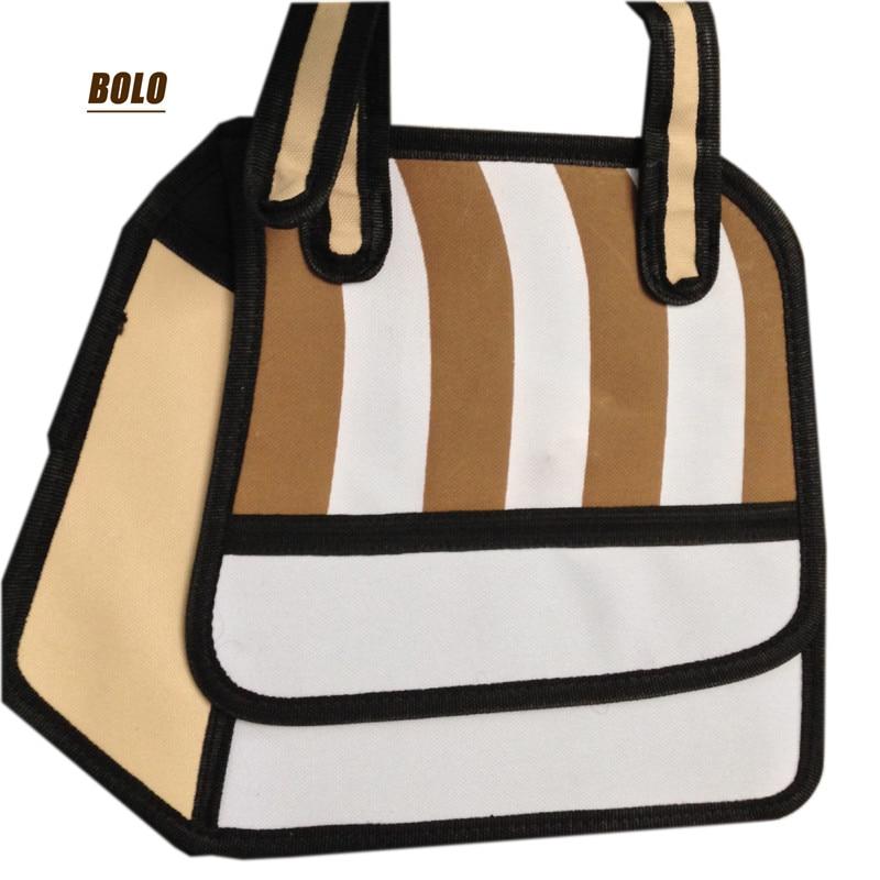 2017 new casual women bag 3D stereo effect messenger bag cute female stripe women handbag high quality durable handbags<br><br>Aliexpress