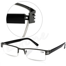 NoEnName_Null New Women Men 1PC Blue Film Resin Reading Glasses +1.00 1.50 2.00 2.50 3.00 3.50 4.00 Diopter(China)