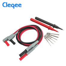 Cleqee P1300A 10-in-1 Super Multimeter Probe Replaceable Probe Clamp Multi Meter Test Lead kits 4mm Banana Plug Test Line Cable