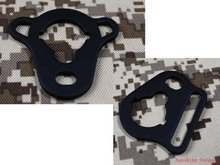 Sling adapter/sling ring for AEG M4 / M16 stock link rod Hunting accessories- Free Shipping