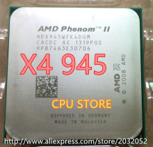 AMD Phenom II X4 945 CPU processor 3.0GHz Socket AM2+/AM3 938-pin L3/6M Quad-CORE x4 945
