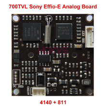 "700TVL Analog Camera Module Board PCB Circuit with 1/3"" Sony Effio-E CCD Sensor 811 + 4140 for CCTV Video Surveillance Security(China)"