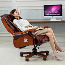 Body Electric Massage Chair Luxury Shiatsu Leather Recliner Office Bedroom 2017 Boss Massage Chair(China)