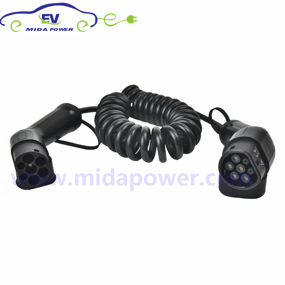 62196-2 EV Charging Lead Cable Type 2 32amp with 5m Cable