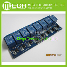 Free shipping 8-channel 5v relay module 5V 8 Channel Relay Module Board PIC AVR MCU DSP ARM