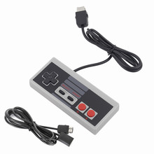 Game Controller Gamepad Joystick with 1.8m Extend Cable for NES Classic Edition Mini for Wii Console