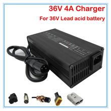 180W 36V 4A lead-acid battery charger 36V electric bike e-scooter charger wheelchair charger 36V Lead acid charger