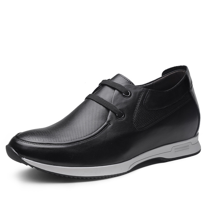 New 2016 Fashion Mens Casual Shoes Invisible Make Man Height Increasing 2.36 Inches Taller, 100% Genuine Leather Shoes<br><br>Aliexpress