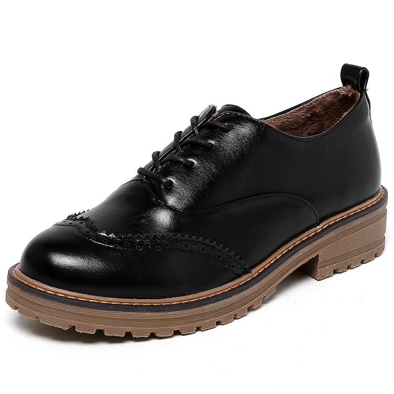FLAT Shoes Woman Autumn Flats 2017 Fashion Brogue Oxford Women Shoes moccasins sapatos femininos sapatilhas zapatos mujer ZT840<br><br>Aliexpress