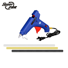 Super PDR tools set 220v 100w glue gun with 3 pcs hot melt glue sticks used for Car dent repair dent removal
