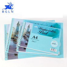 BGLN Watercolor Paper 24 Pages For Watercolor Painting A4/A5 Watercolor Drawing Painting Book Art Supplies Student Stationery(China)
