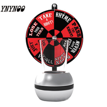 YNYNOO Board game Darts Drinking Game Turntable Drinking Glass Tools Spinning Wheel Bar drinking Board Game Gags Practical Jokes(China)