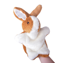 LOVE STORY Bunny Hand Puppets Plush Development Hand Puppet 10'' Classic Educational Toys Best Gifts for Kids