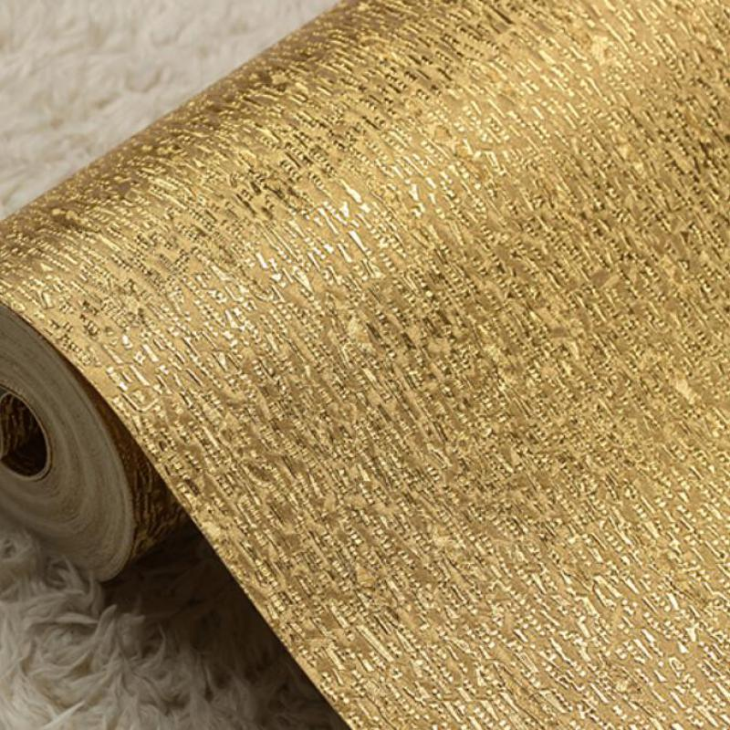 Wallpapers For Living Room Glitter Wallpaper Silver And Gold Foil Wallpaper Roll Paper 3d Vertical Stripes Wallpaper Damask<br>