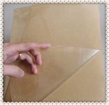 Self Adhesive Sticker A4 Blank Transparent / Clear PET Label Paper for Laser Printer or Used for Lamination Film
