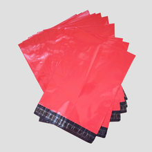 Free Shipping Red color Express Bag Poly Mailer Mailing Bag Envelope Pouches Self Adhesive Seal Plastic Bag