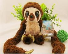 Hot Cute NEW Birthday Gift Plush Strap Dolls Crazy primitive monkey Belt The Sloth soft toys 65CM bouquets  SUPER SIZE MTY410