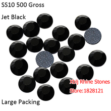 Xblj Rhine Stones Jewellery Accessories Big Package 100 Gross Most Popular Size 5mm SS20 Jet Black Retro DMC Hotfix Rhinestones