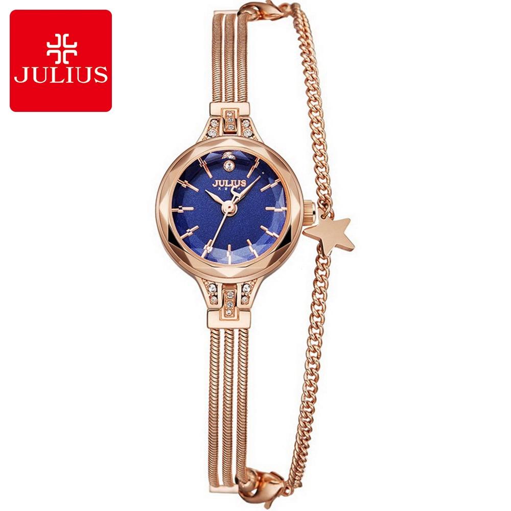 Women Bracelet Stainless Best Quality Elegant Watches Ladies Fashion Casual Quartz Watch Original Brand Julius 918 Hour Clock<br>