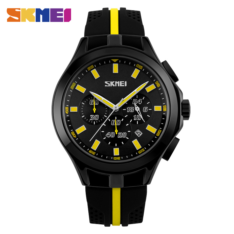 SKMEI Fashion Chronograph Sport Mens Watches Top Brand Luxury Quartz Watch Reloj Hombre Clock Male hour relogio Masculino 9135<br><br>Aliexpress