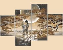 DIY 3D Алмазная мозаика романтический любовник картина, вышитая бисером Алмазная вышивка Триптих Home Decor несколько <u>вышивка</u> фотографий D531(China)