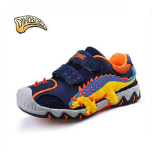 Dinoskulls Children Fashion Breathable Shoes Brand 3D Dinosaur Kids Casual shoes Spring/Autumn Boys Sport Sneakers Leisure Shoes(China)