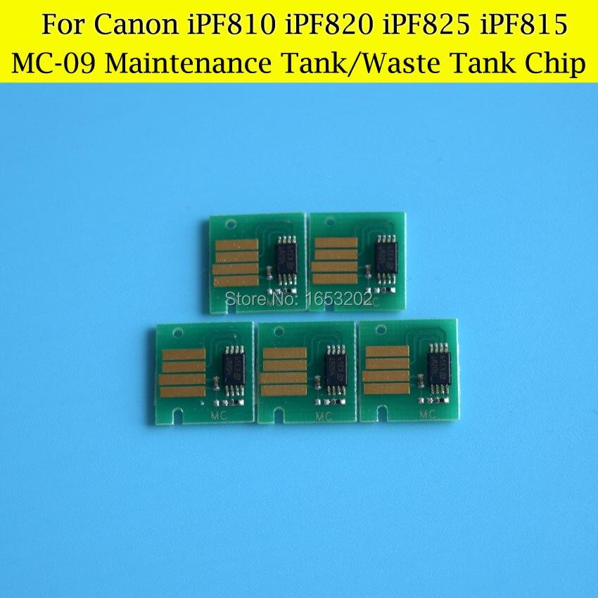 5 PCS MC-09 Maintenance Tank Chips For CANON IPF810/820/825/815 Printer Plotter Waste Ink Tank<br><br>Aliexpress