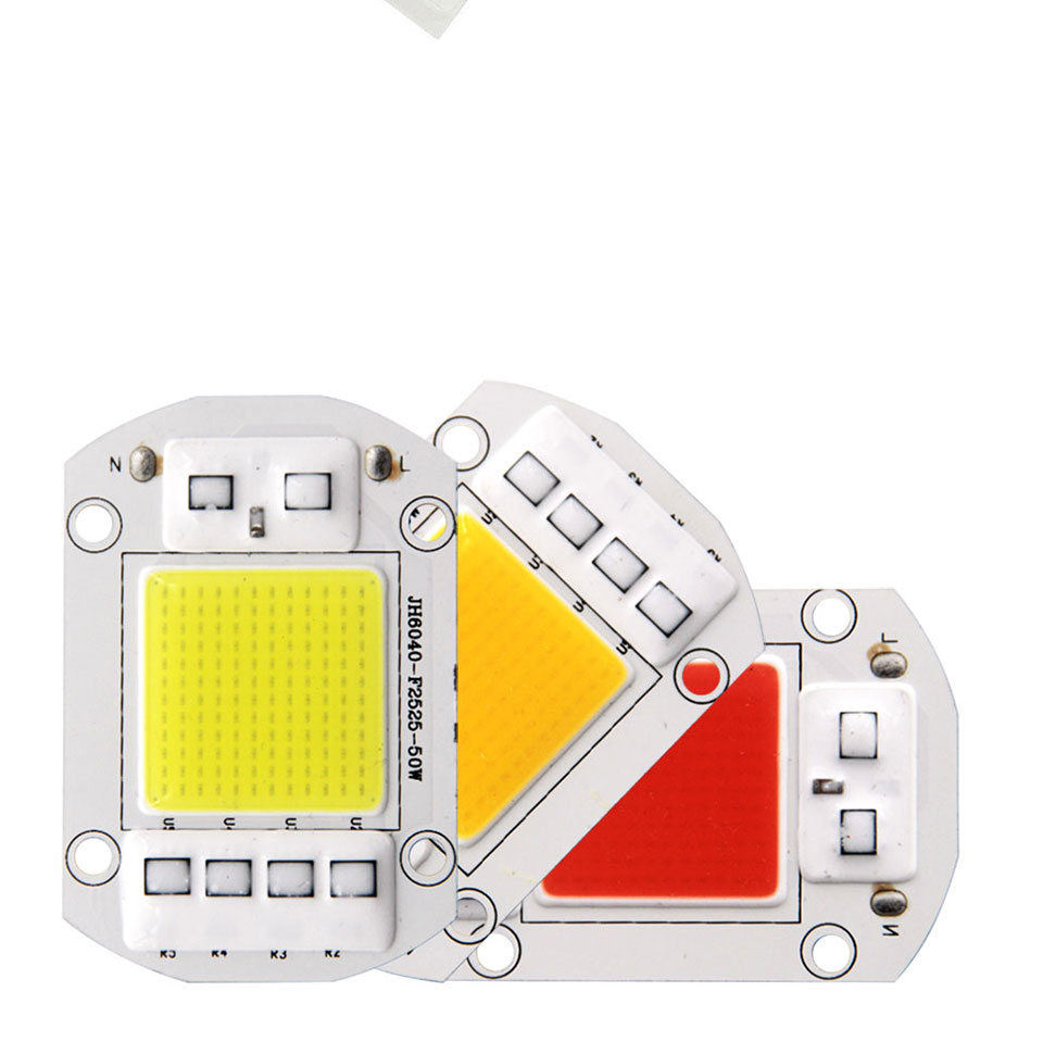 AC 110V 220V LED COB Lamp Chip 20W 30W 50W 100W 150W Full Spectrum LED Plant Grow Light Driverless Smart IC DIY LED Floodlights (8)