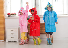 New Arrival High-quality Animal Children's Raincoat Kids Rain Coat Children's Waterproof Rainwear