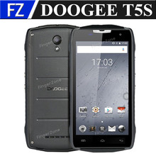 "Original DOOGEE T5S 5.0"" HD MTK6735 quad core Android 6.0 4G LTE business phone 2gb ram 16gb rom 8MP dual sim waterproof GPS"