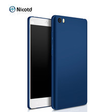 Nicotd Luxury hard Plastic Matte Case for Xiaomi 6 Mi 5 5c 5s Plus 4 4c Full Cover PC Cell Phone Case For Xiaomi MAX MIX Note 2(China)