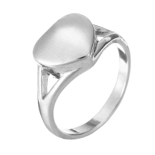 Shellhard Vintage Cremation Ash Rings Trendy Stainless Steel Heart Memorial Urn Finger Ring For Women Men Jewelry Bijoux(China)