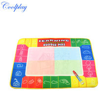 Coolplay CP1325NC 72X49cm 4 colors  Magic Water Doodle Mat with 1 Magic Pen/Water Drawing Board/Water Mat/aquadoodle mat